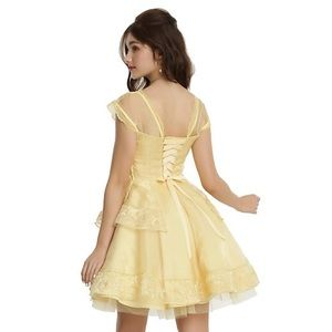 SALE NWT Hot Topic Disney Belle Ball Gown Dress XL